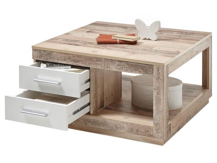 Industrietisch aus Holz verkauft echte