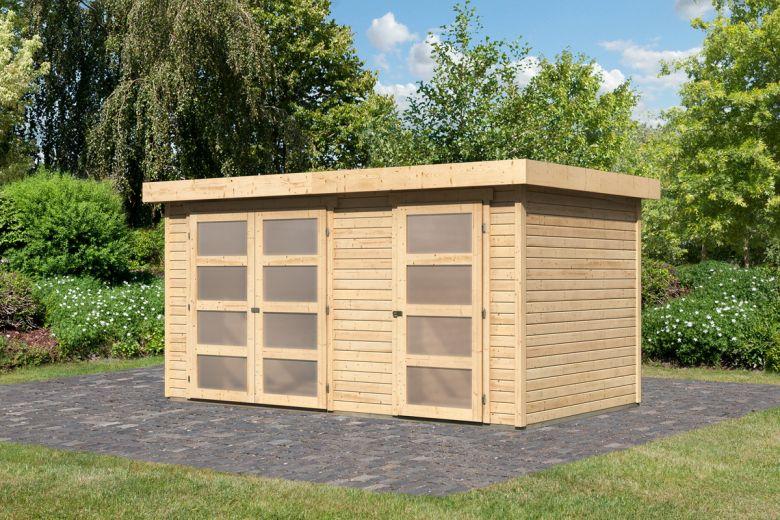 karibu gartenhaus ger tehaus m hlentrup bergamo. Black Bedroom Furniture Sets. Home Design Ideas