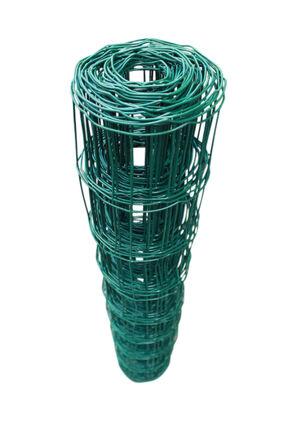 Top-Multi Maschendrahtzaun Wildzaun Gartenzaun PVC-beschichtet GR/ÜN 76mm x 63mm x 1,2m x 10,0m