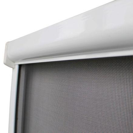 insektenschutz rollo fenster fliegengitter m ckenschutz insektennetz alu ebay. Black Bedroom Furniture Sets. Home Design Ideas