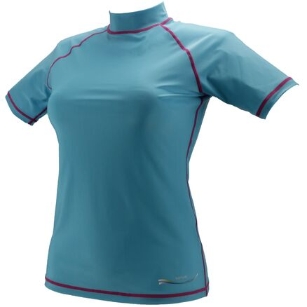 UV-Shirt UPF 50 Damen Herren Badeshirt Tauch-Schwimmshirt Surfshirt Kurzarm