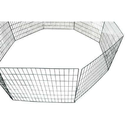 Drahtkomposter Metallkomposter Gartenkomposter Komposter Kleintierauslauf Bio