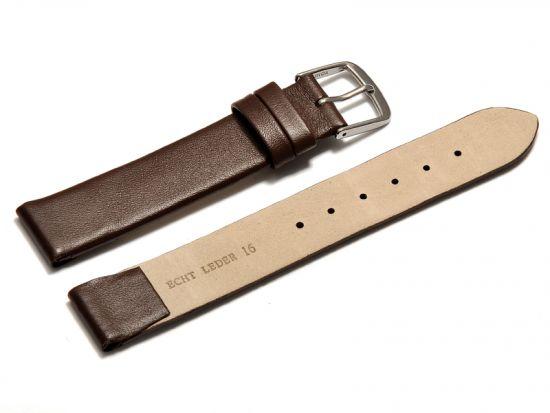sehr weich 60-70er Leder Uhrenarmband Leather strap 16mm auch für Feste Stege