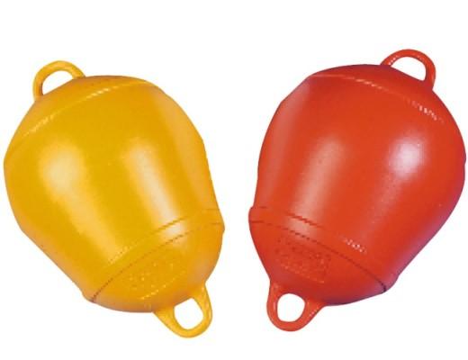 Boje Ankerboje Verankerungsboje in gelb/ orange Festmacherboje Boot