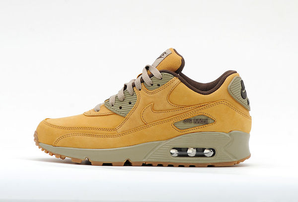 huge discount 09bff 30220 Nike Air Max 90 wheat brown leather 683282-700
