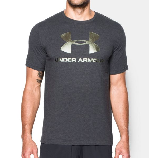 Under Armour Sportstyle T-Shirt Sport Fitness Freizeit Shirt Herren Bodybuilding