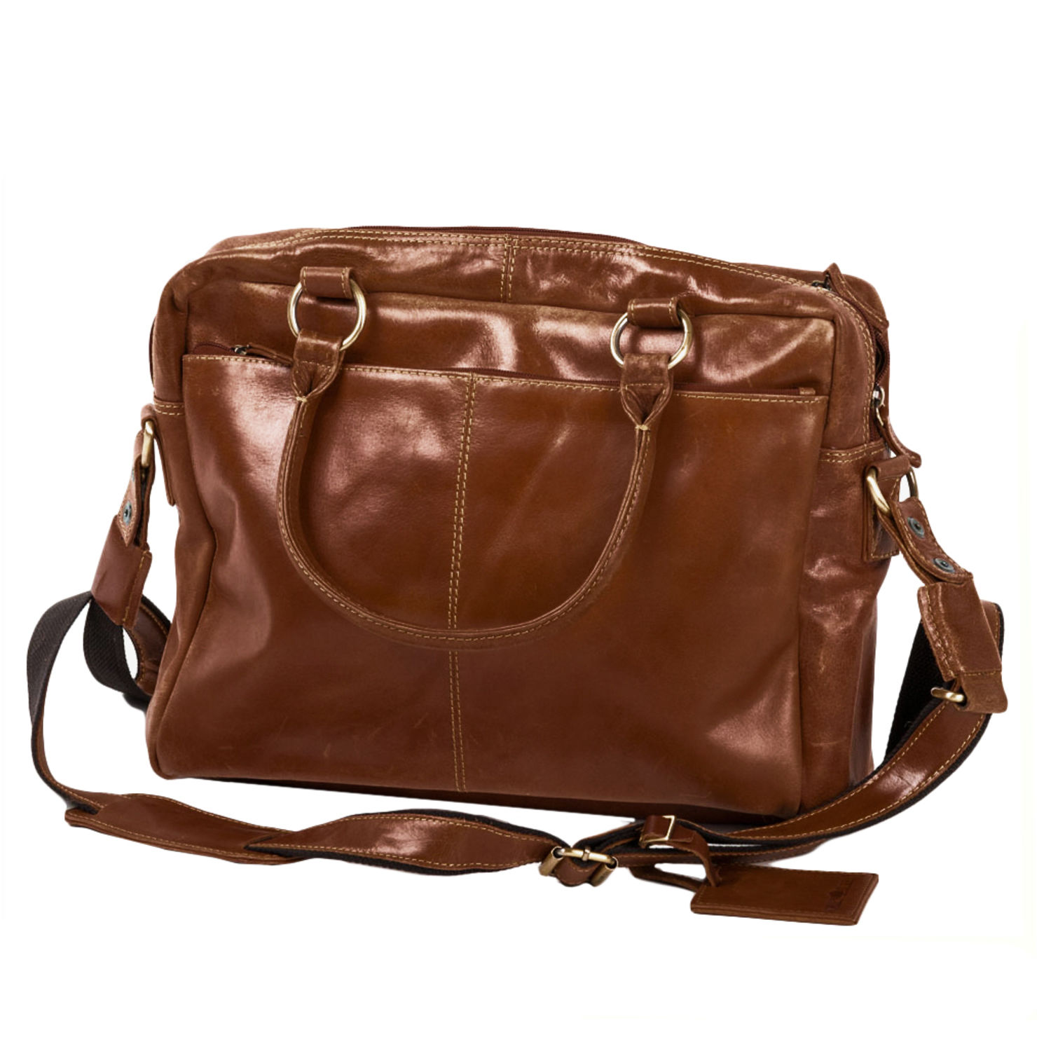 2bc5489d98948 Greenburry Expedition 564-24 Leder Schultertasche Messenger ...