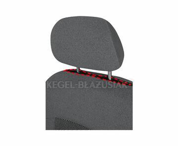 Sitzbezug dunkel grau SIN CHEVROLET AVEO