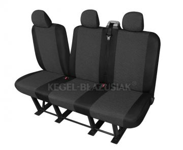 Ford Transit 9 Sitzer Sitzbezüge Schonbezüge Sitzschoner Set in Grau