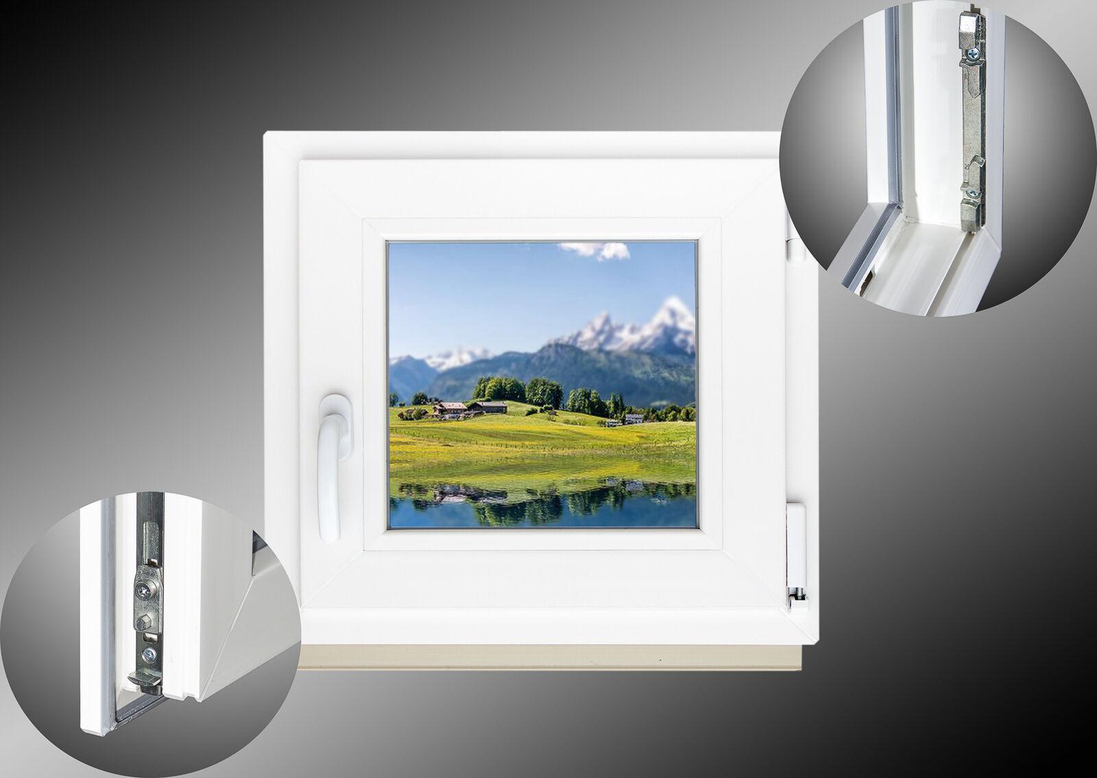 Kellerfenster-Kunststoff-Fenster-Dreh-Kipp-2-Fach-Verglasung-SOFORTLIEFERBAR Indexbild 17