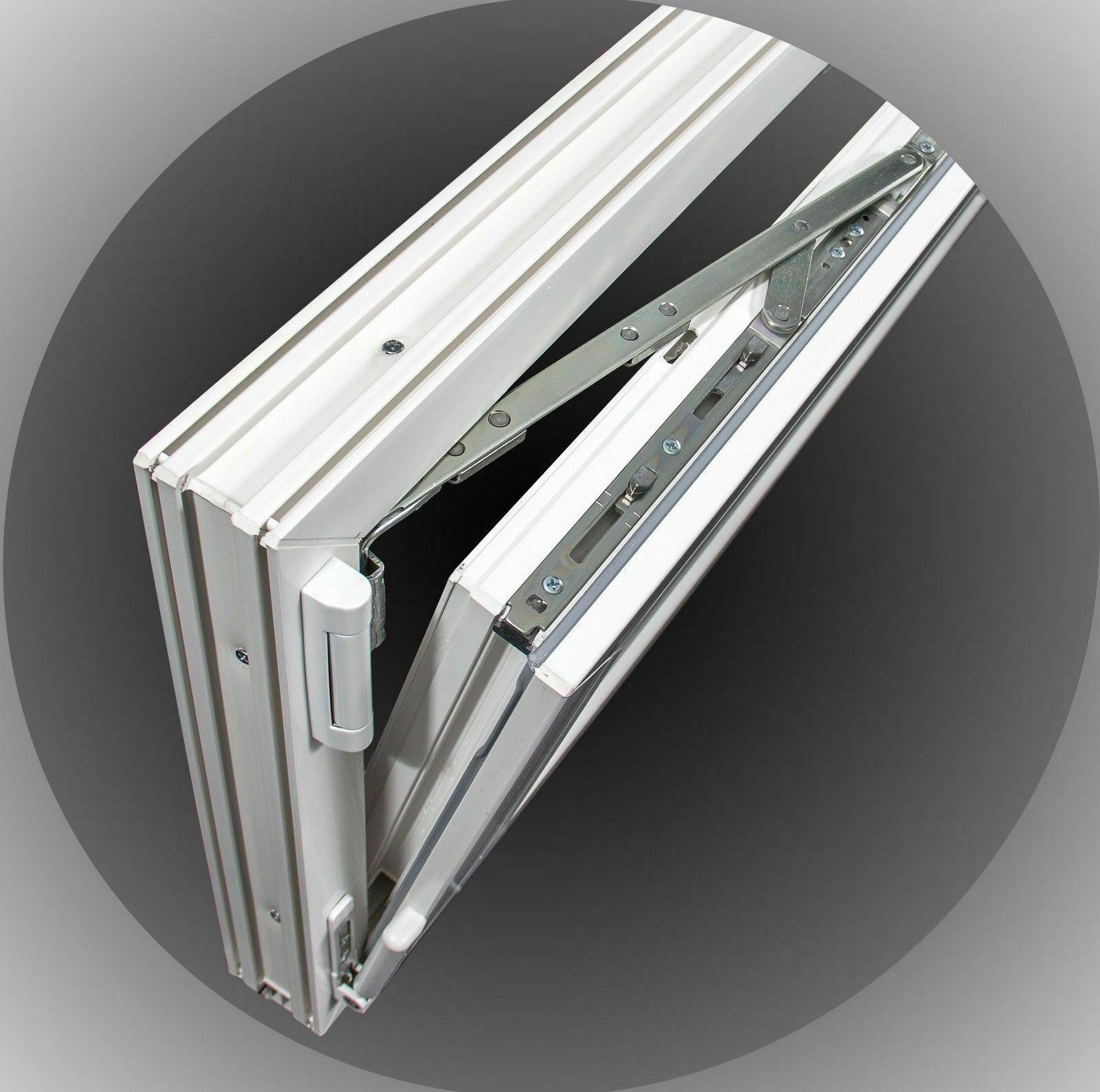 Kellerfenster-Kunststoff-Fenster-Dreh-Kipp-2-Fach-Verglasung-SOFORTLIEFERBAR Indexbild 18