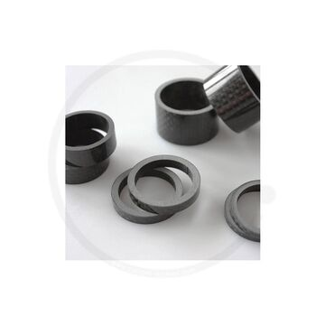 """30mm 10mm 5mm Ahead Spacer 1/""""AluminiumSilver2mm"""