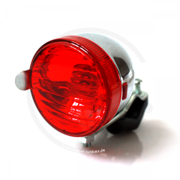 Randonneur Rear Light Vintage Bikefor seat stayssilver large
