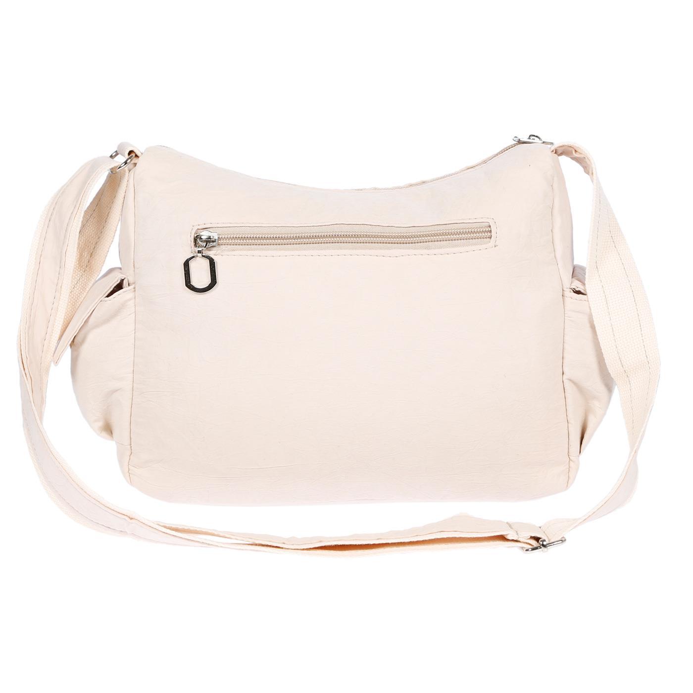 Damenhandtasche-Schultertasche-Tasche-Umhaengetasche-Canvas-Shopper-Crossover-Bag Indexbild 28