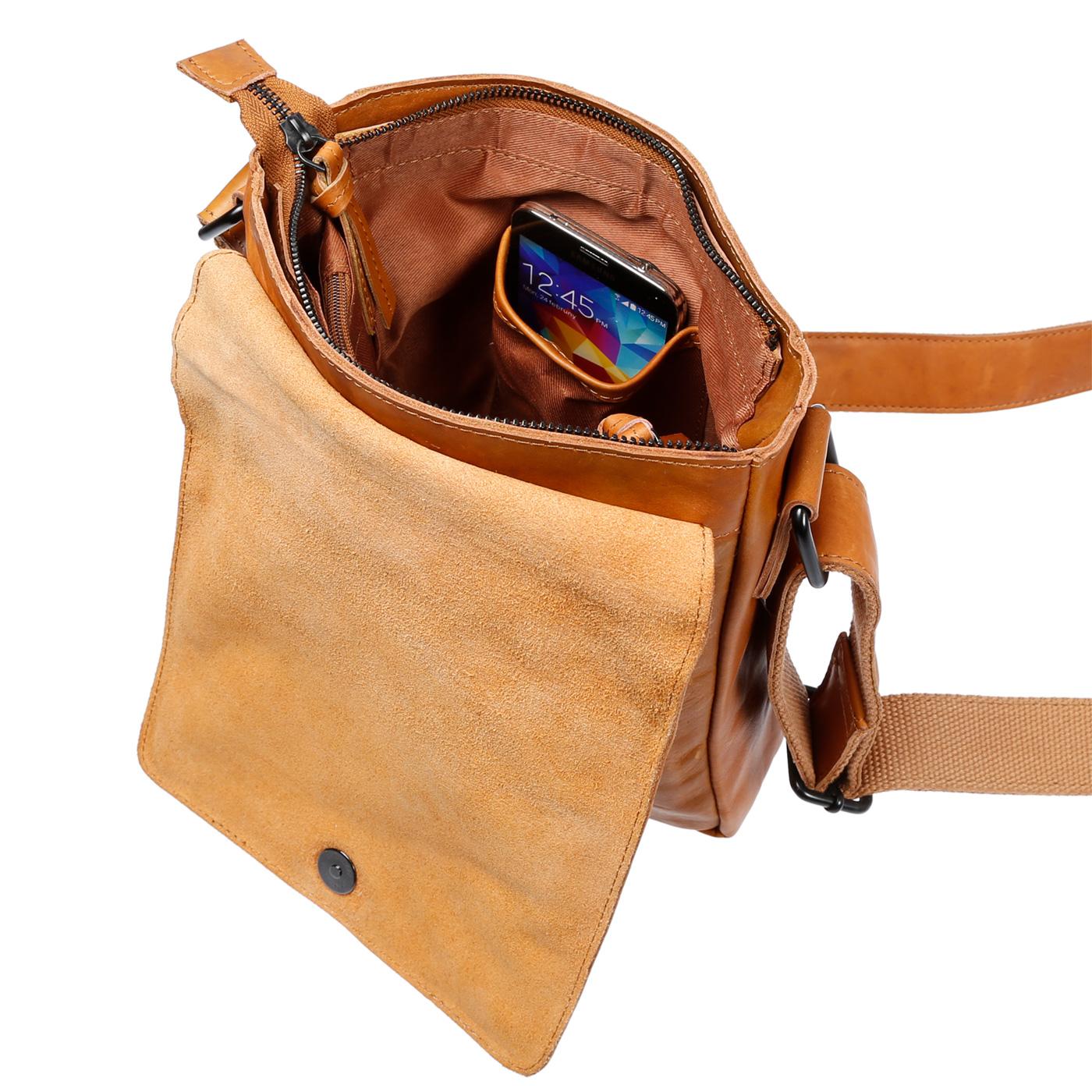 Echt-Leder-Herren-Damen-Umhaengetasche-Tasche-RFID-Schutz-Schultertasche-Umhaenger Indexbild 32