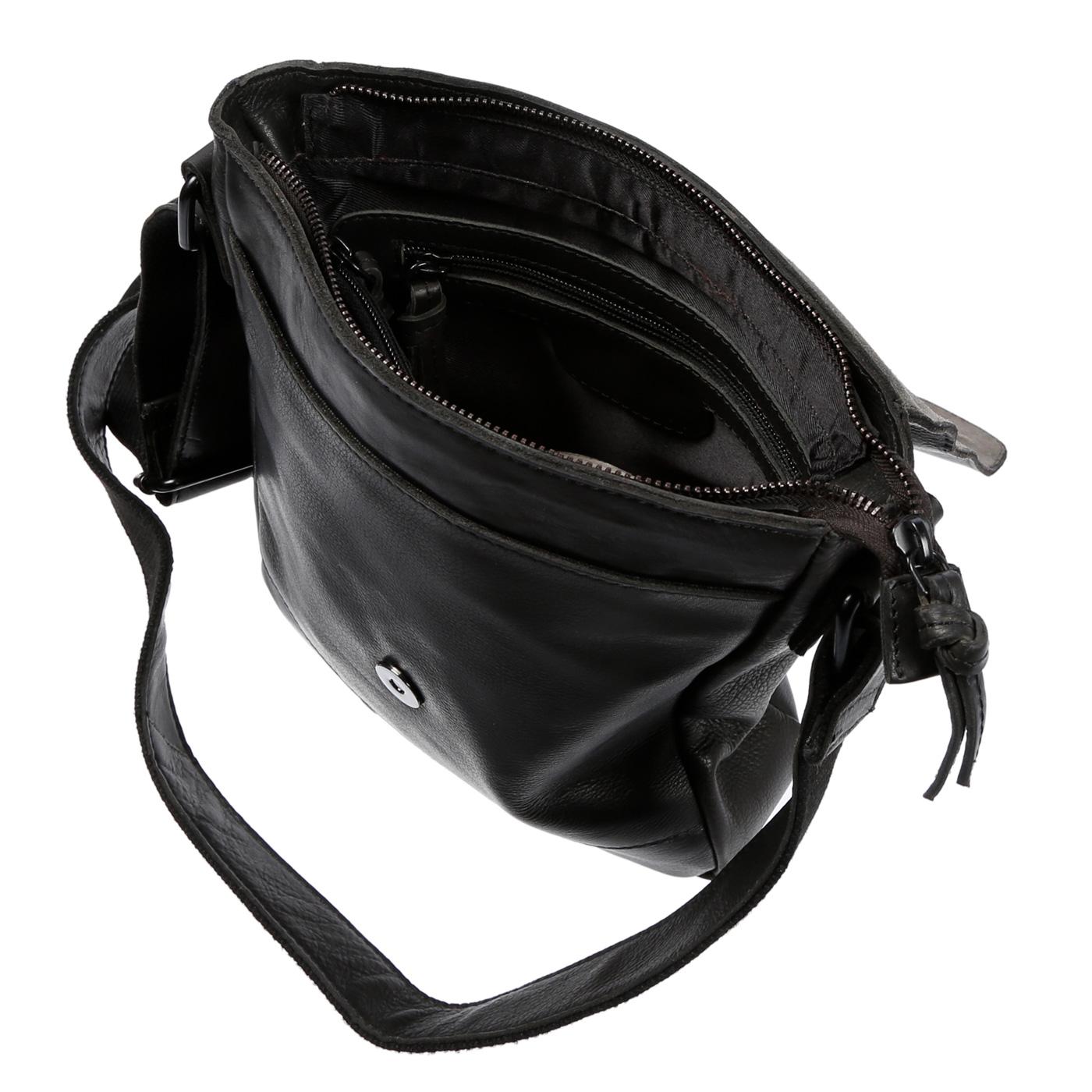 Echt-Leder-Herren-Damen-Umhaengetasche-Tasche-RFID-Schutz-Schultertasche-Umhaenger Indexbild 20
