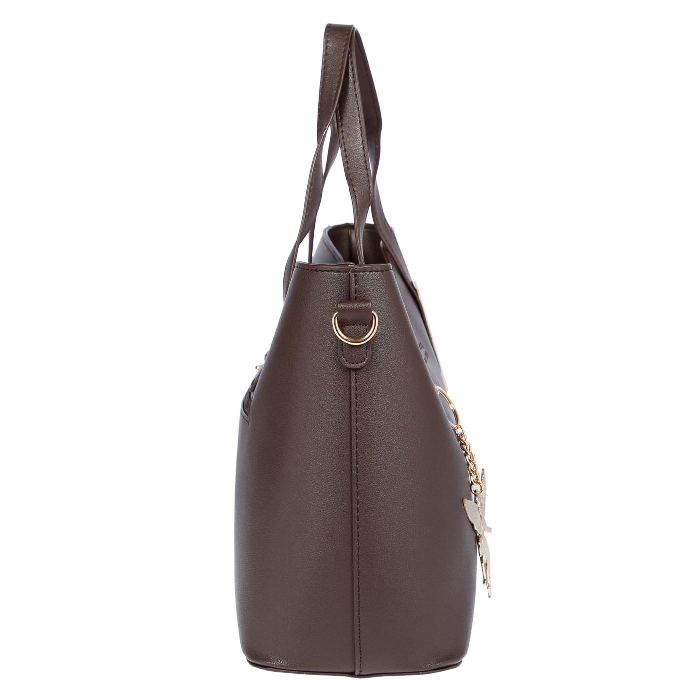 Kossberg-Damen-Tasche-Henkeltasche-Schultertasche-Umhaengetasche-Leder-Optik-Bag Indexbild 38