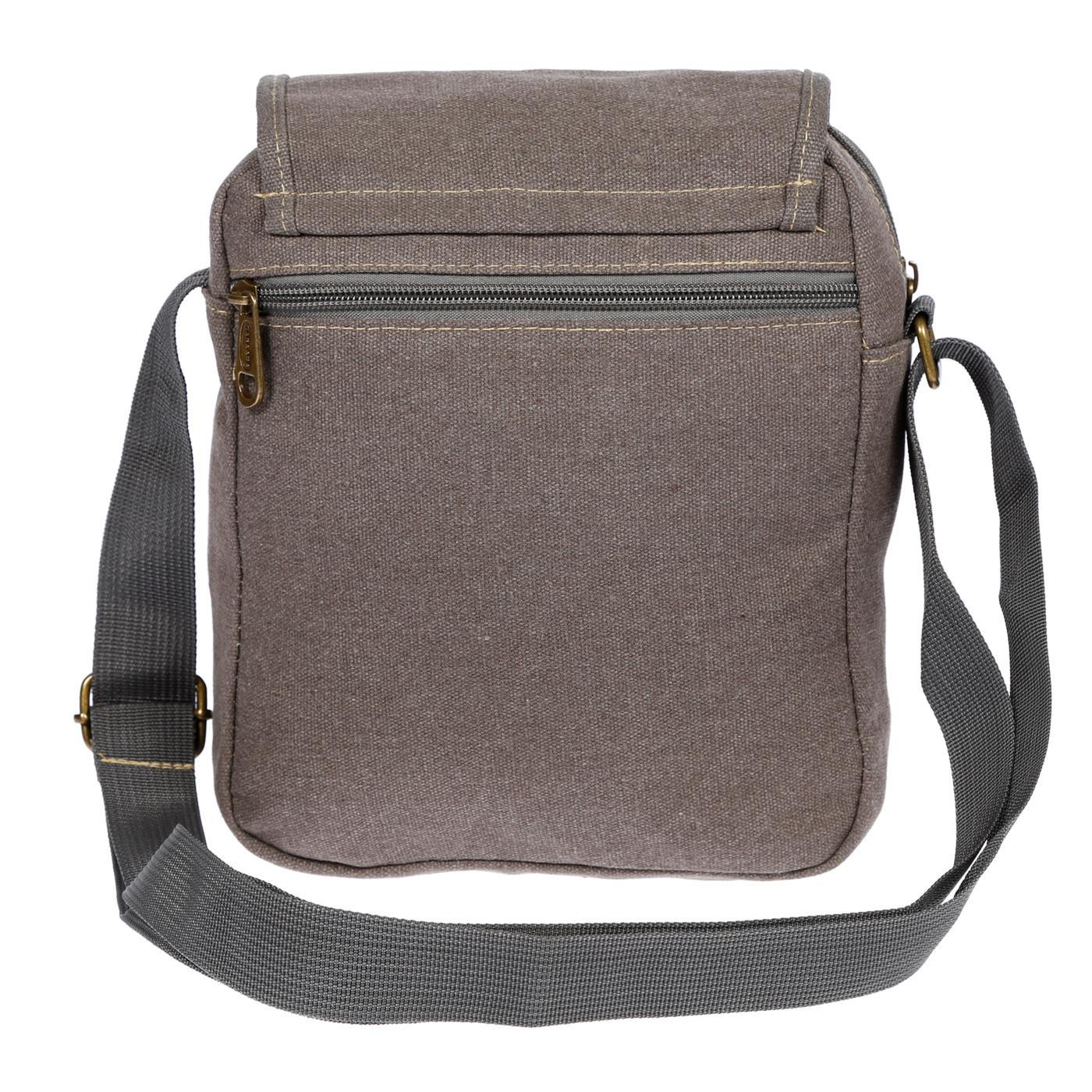 Damen-Herren-Tasche-Canvas-Umhaengetasche-Schultertasche-Crossover-Bag-Handtasche Indexbild 20
