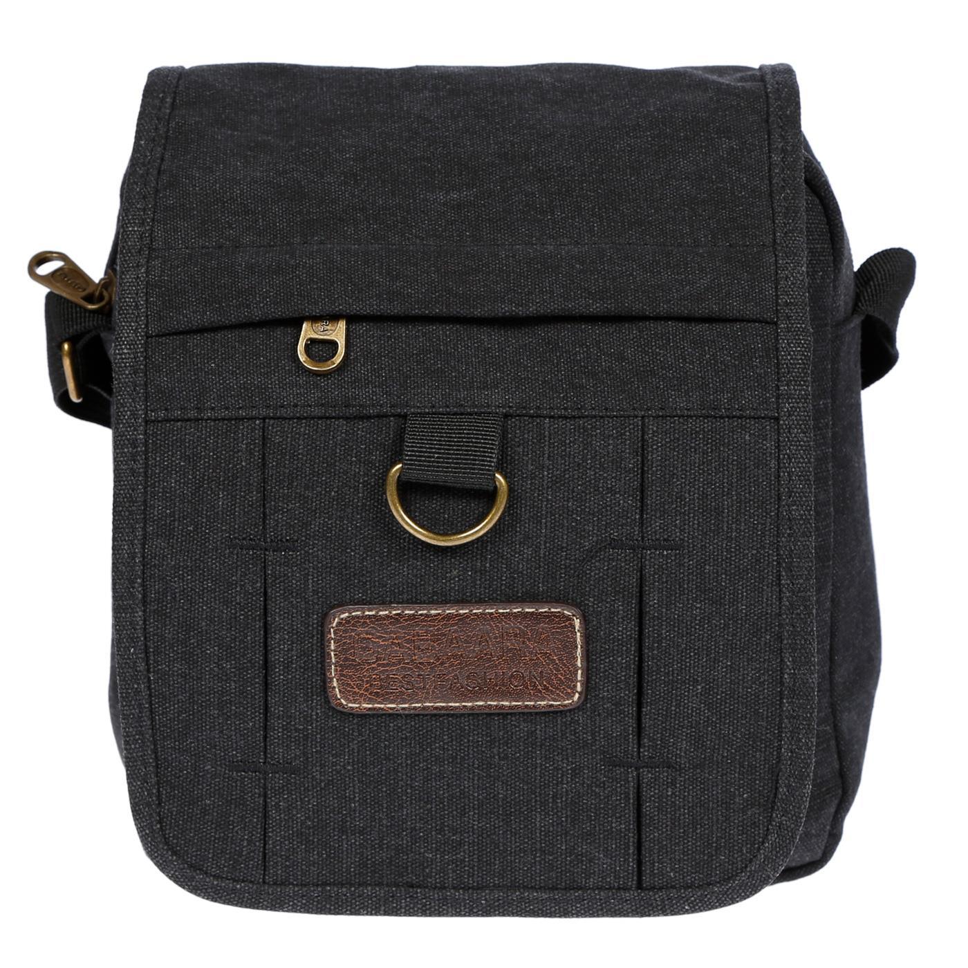 Damen-Herren-Tasche-Canvas-Umhaengetasche-Schultertasche-Crossover-Bag-Handtasche Indexbild 12