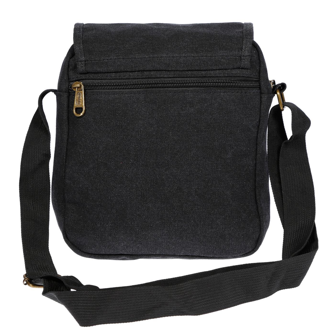 Damen-Herren-Tasche-Canvas-Umhaengetasche-Schultertasche-Crossover-Bag-Handtasche Indexbild 14