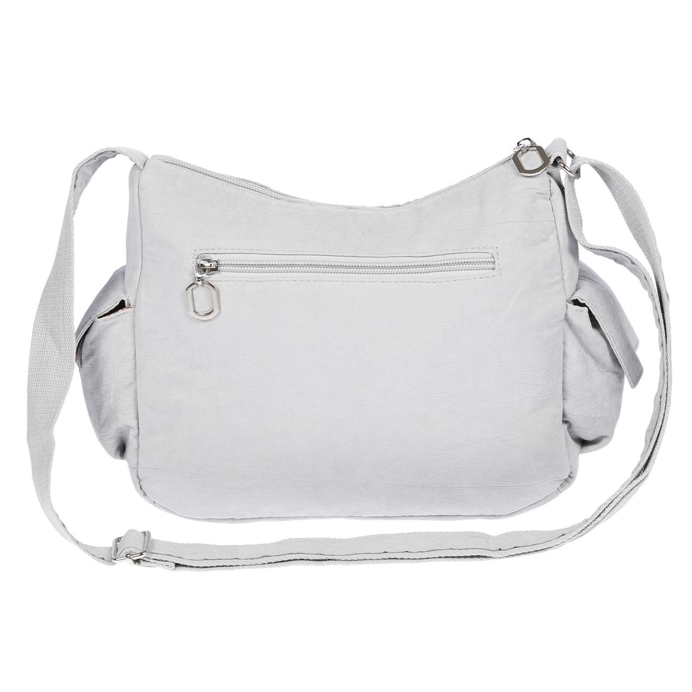 Damenhandtasche-Schultertasche-Tasche-Umhaengetasche-Canvas-Shopper-Crossover-Bag Indexbild 23