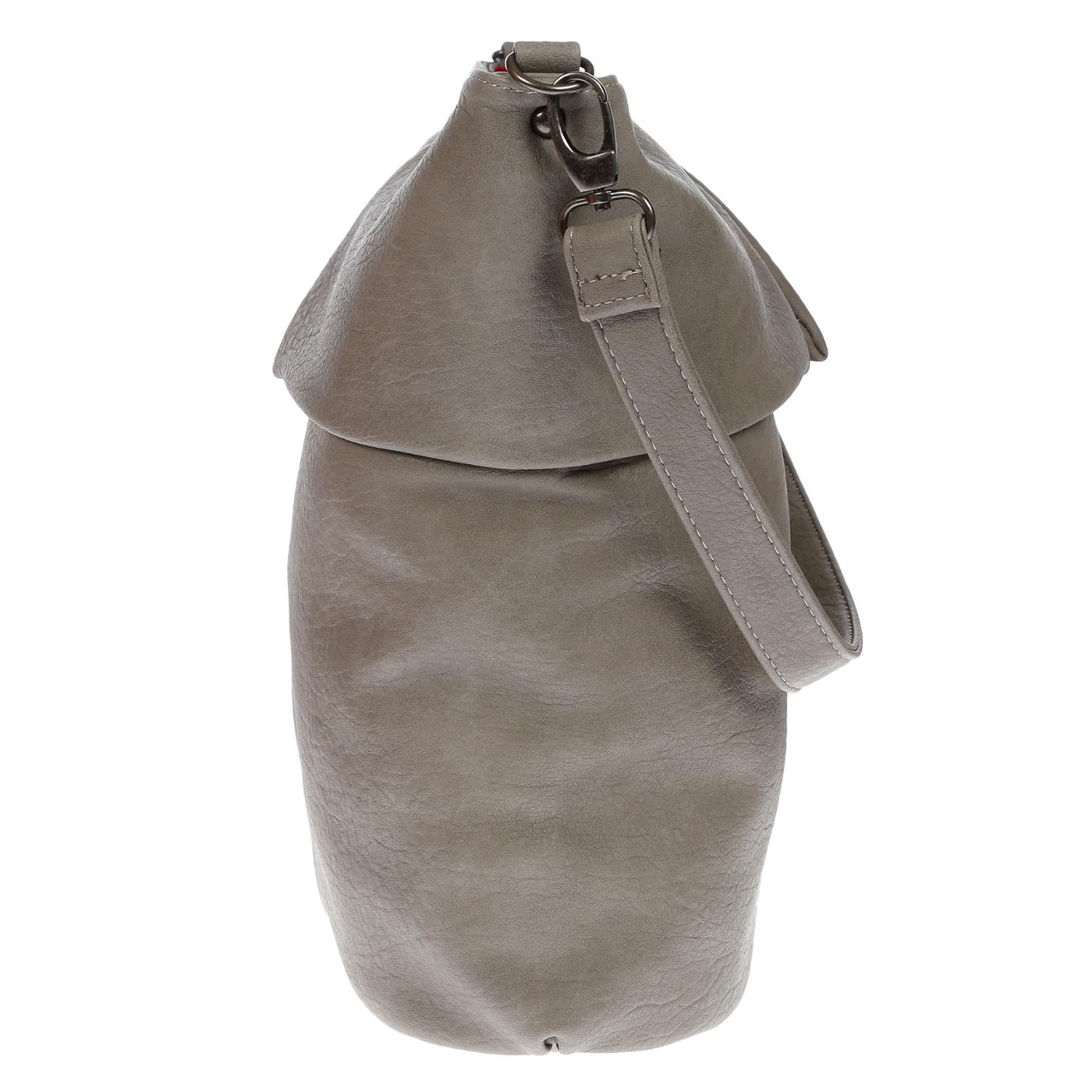 Damentasche-Umhaengetasche-Handtasche-Schultertasche-Leder-Optik-Tasche-Schwarz Indexbild 22
