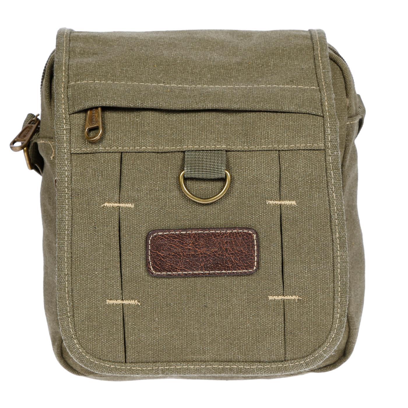Damen-Herren-Tasche-Canvas-Umhaengetasche-Schultertasche-Crossover-Bag-Handtasche Indexbild 37