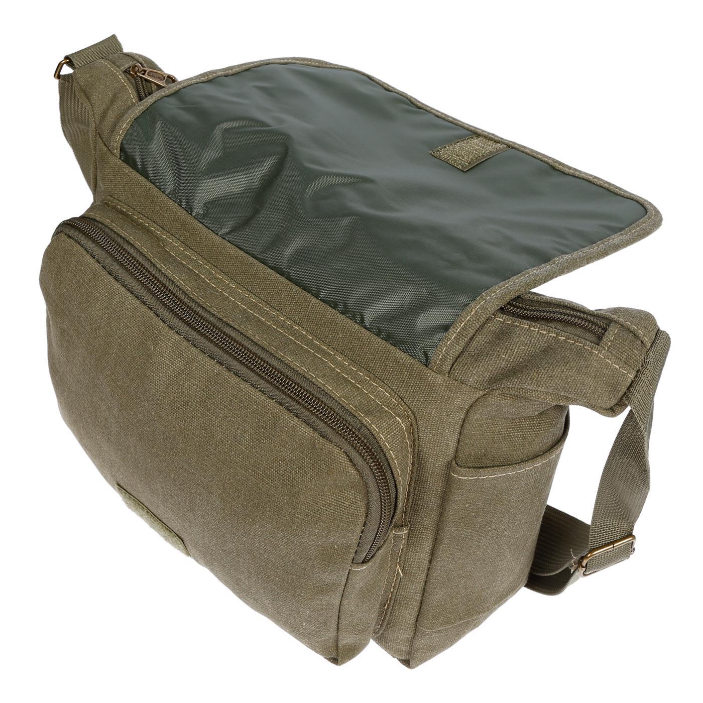 Damen-Tasche-Canvas-Umhaengetasche-Schultertasche-Crossover-Bag-Damenhandtasche Indexbild 41