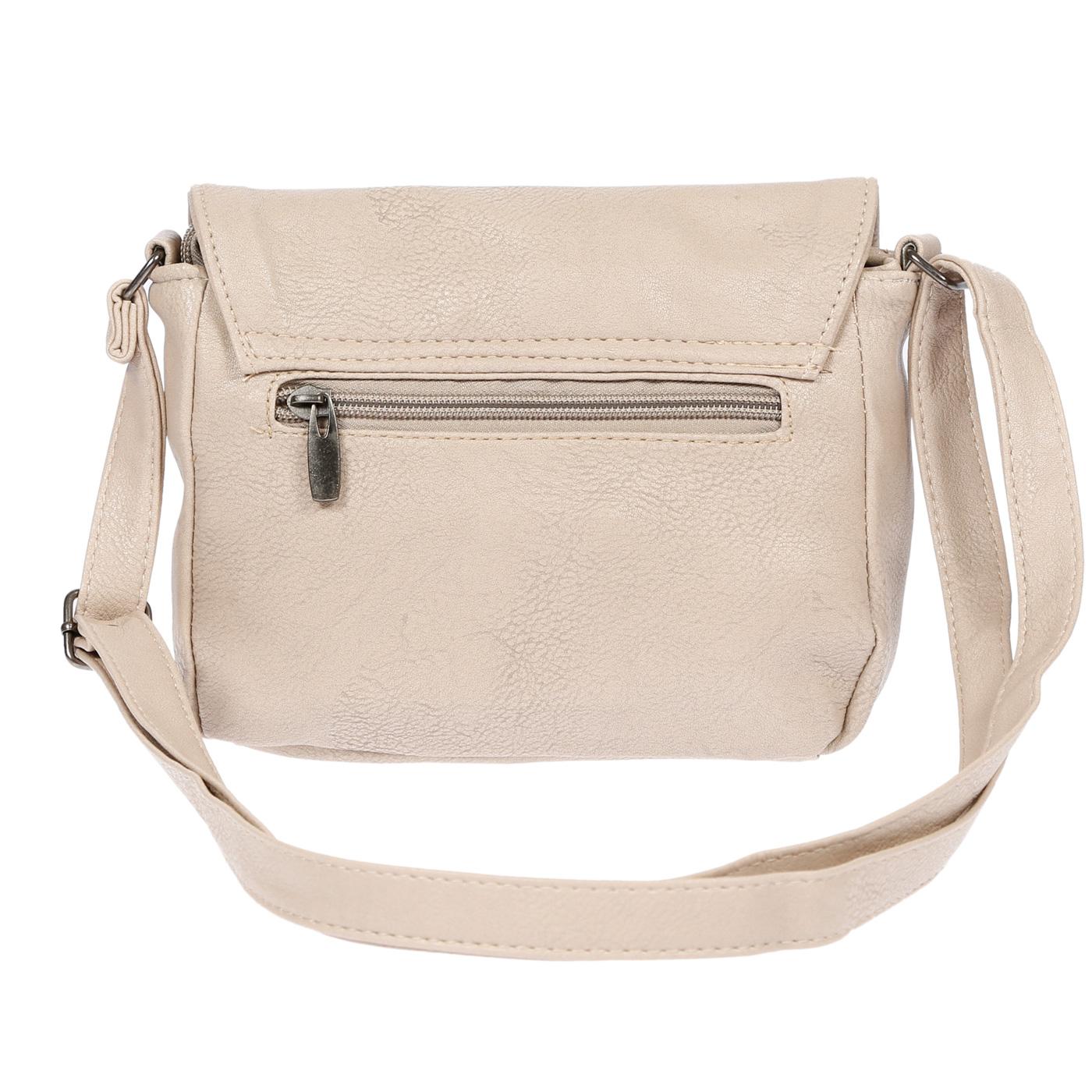 Kleine-Damen-Tasche-Umhaengetasche-Schultertasche-Crossover-Bag-Leder-Optik-NEU Indexbild 24