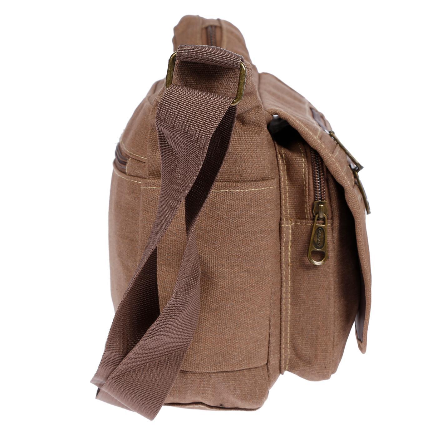 Damen-Tasche-Canvas-Umhaengetasche-Schultertasche-Crossover-Bag-Damenhandtasche Indexbild 27
