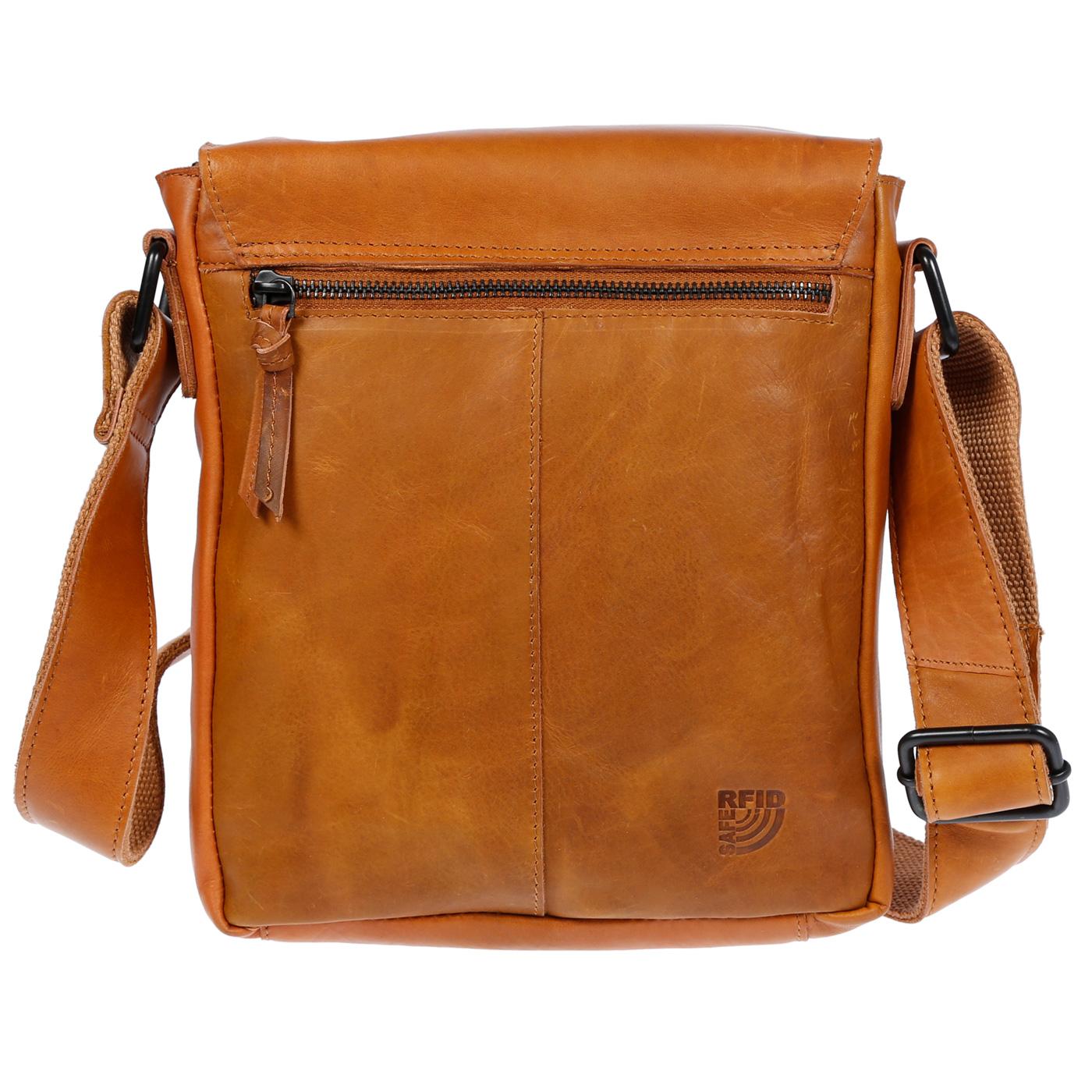 Echt-Leder-Herren-Damen-Umhaengetasche-Tasche-RFID-Schutz-Schultertasche-Umhaenger Indexbild 30