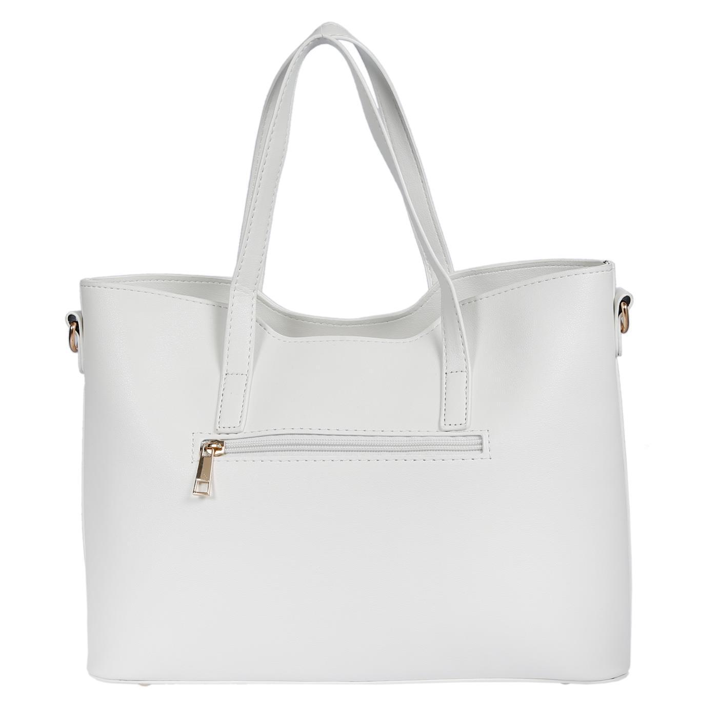 Kossberg-Damen-Tasche-Henkeltasche-Schultertasche-Umhaengetasche-Leder-Optik-Bag Indexbild 28