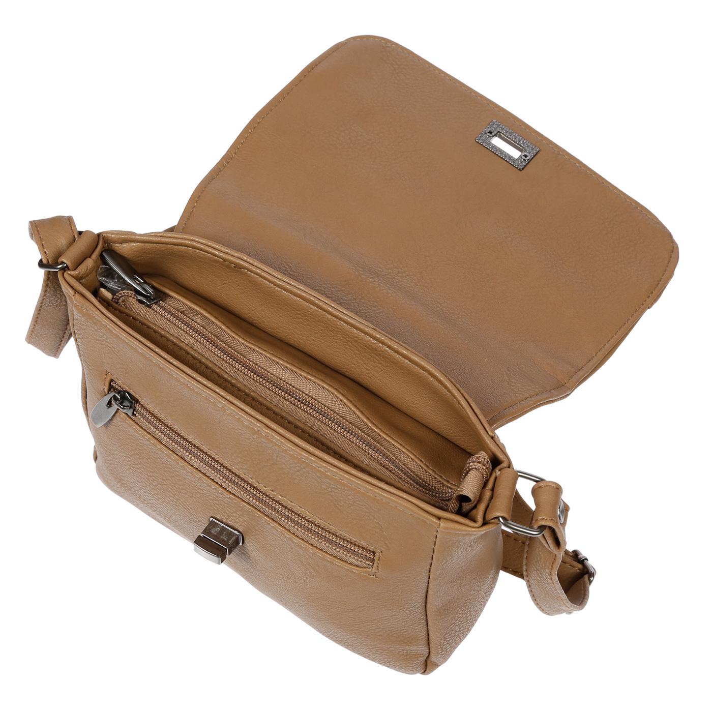 Kleine-Damen-Tasche-Umhaengetasche-Schultertasche-Crossover-Bag-Leder-Optik-NEU Indexbild 33