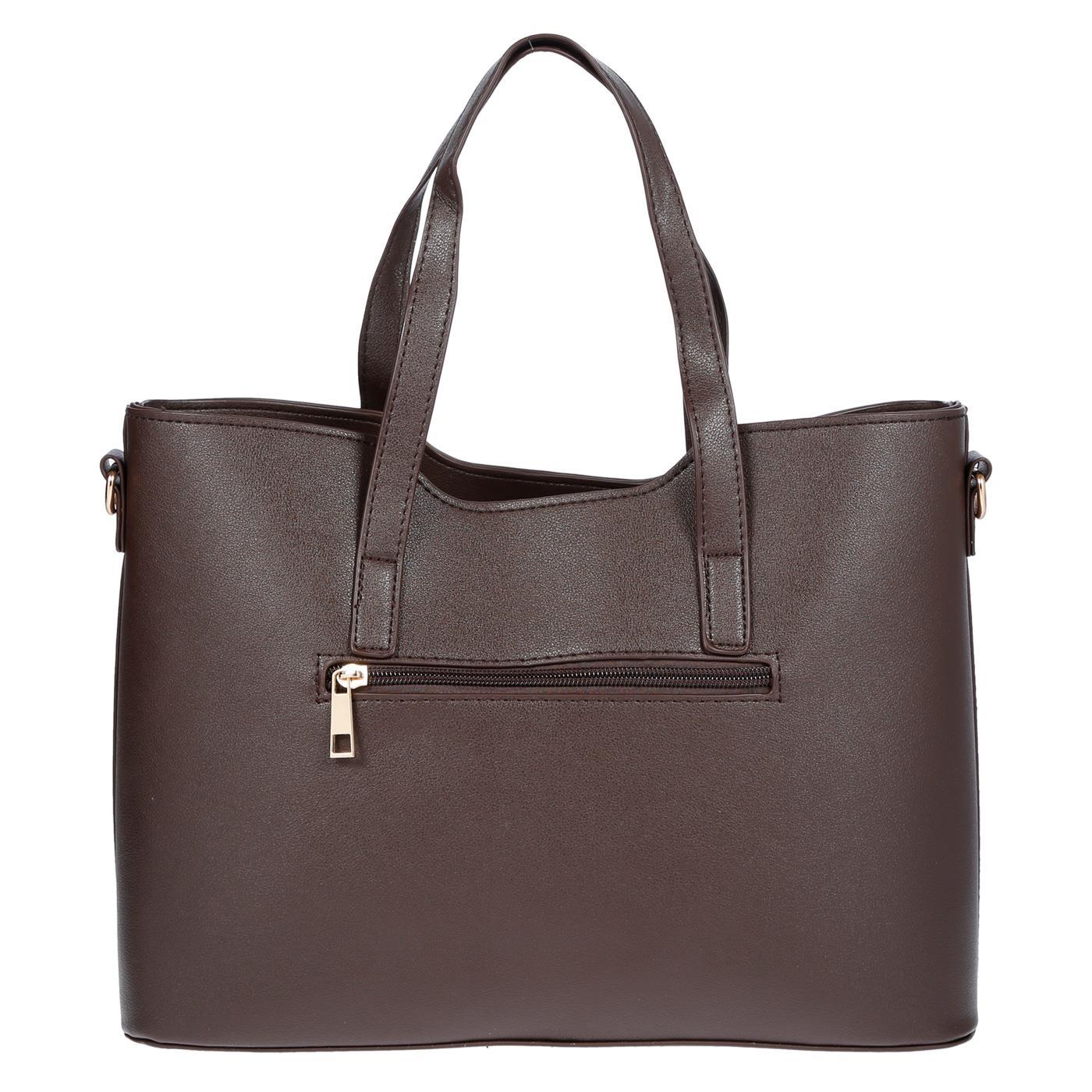 Kossberg-Damen-Tasche-Henkeltasche-Schultertasche-Umhaengetasche-Leder-Optik-Bag Indexbild 39