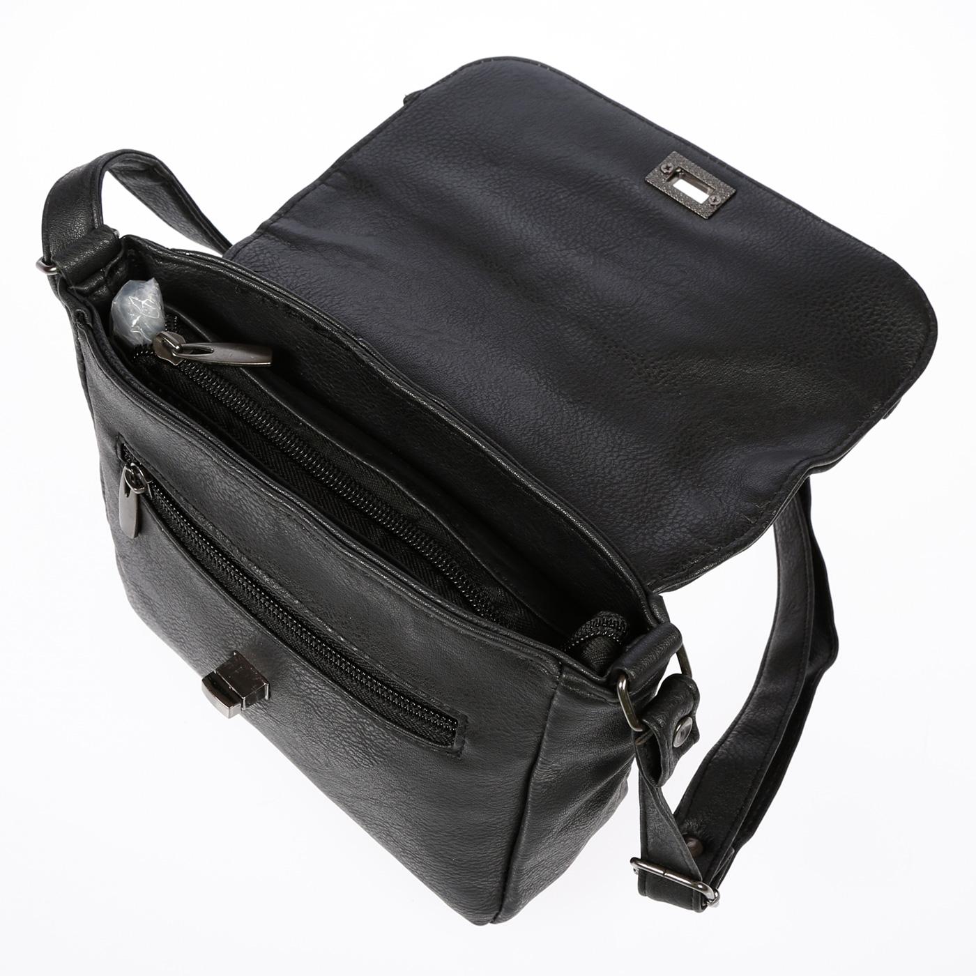Kleine-Damen-Tasche-Umhaengetasche-Schultertasche-Crossover-Bag-Leder-Optik-NEU Indexbild 17