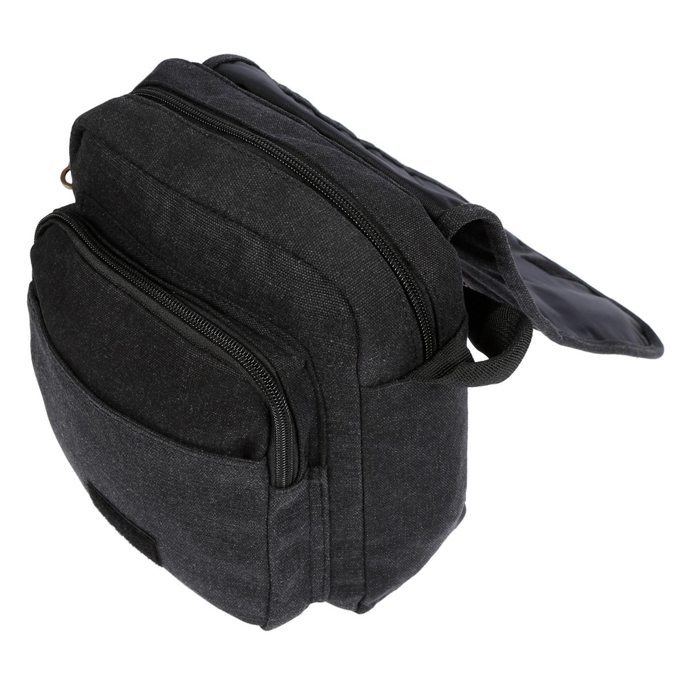 Damen-Herren-Tasche-Canvas-Umhaengetasche-Schultertasche-Crossover-Bag-Handtasche Indexbild 15
