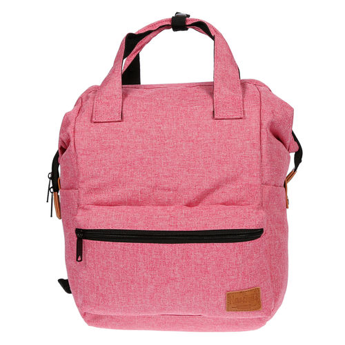 d89a7a6f5a84a Damen Canvas Rucksack Tablet Laptop Fach Tasche Schwarz Grau City Bag  Backpack