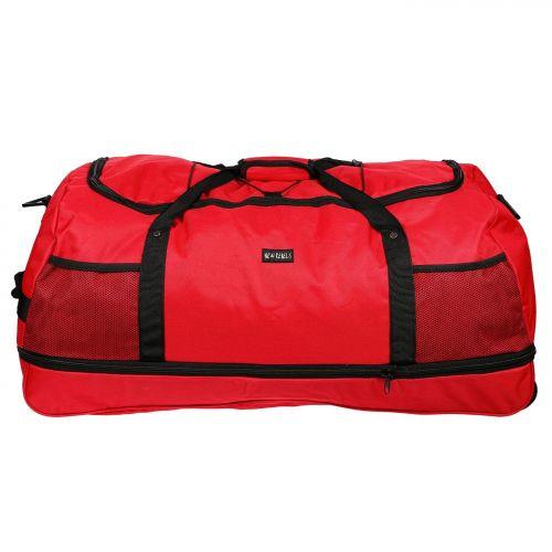 Trolley Sporttasche Tasche Rollreisetasche ROLLINGBAG XXL 80 cm Bag faltbar Grün