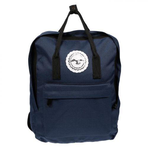 Herren Damen Rucksack Citybag Nylon Hochformat Laptopfach Tasche City Daypack