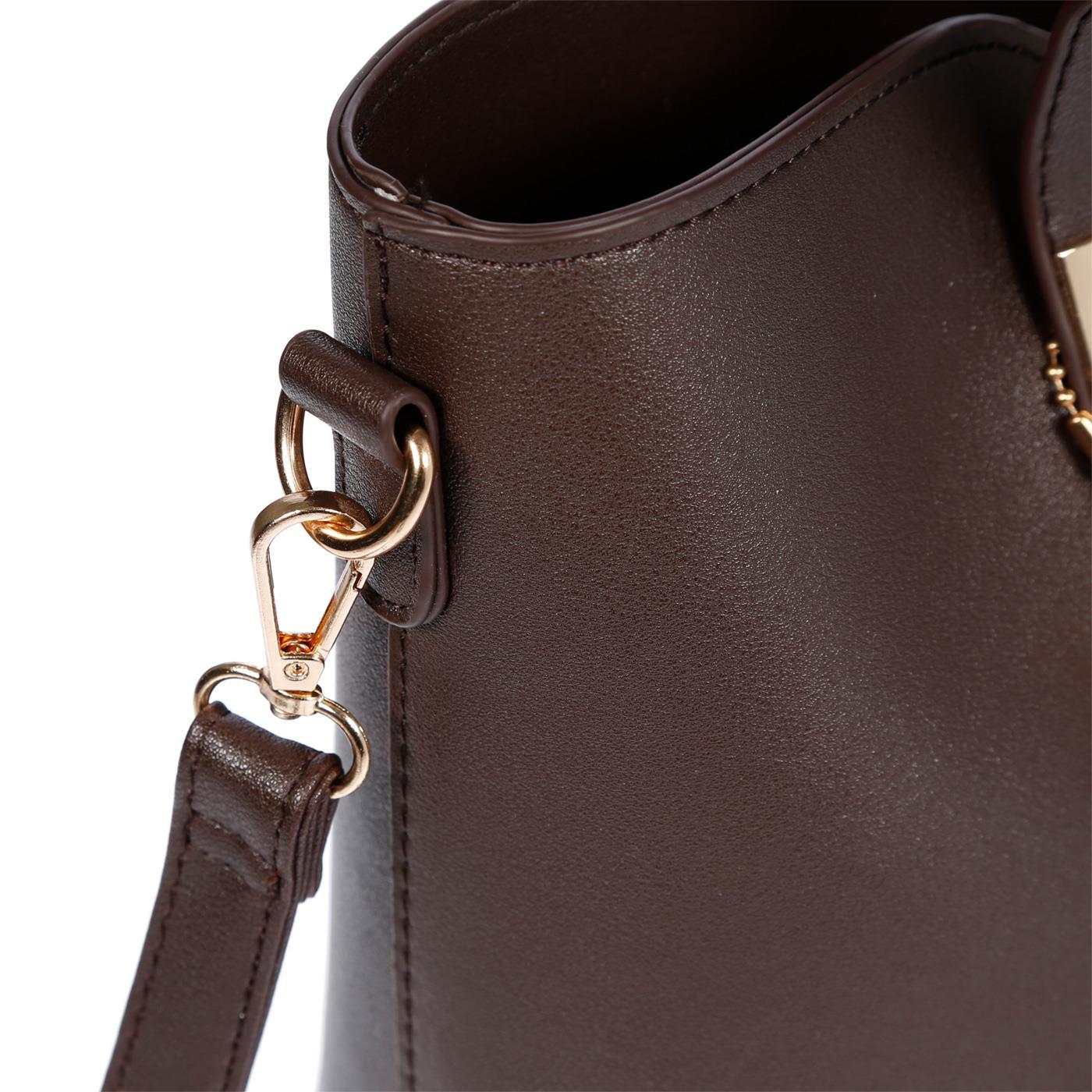 Kossberg-Damen-Tasche-Henkeltasche-Schultertasche-Umhaengetasche-Leder-Optik-Bag Indexbild 46