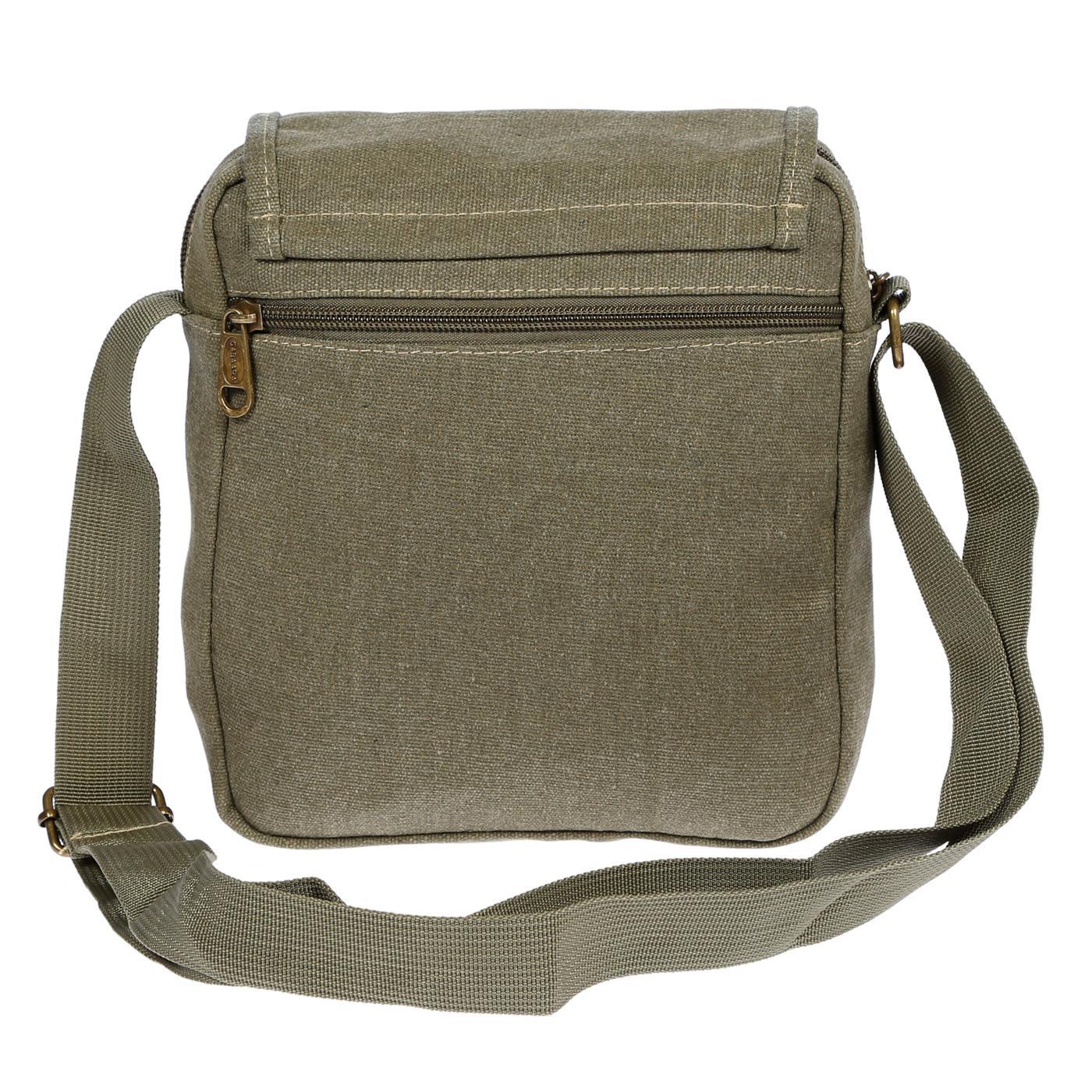 Damen-Herren-Tasche-Canvas-Umhaengetasche-Schultertasche-Crossover-Bag-Handtasche Indexbild 39