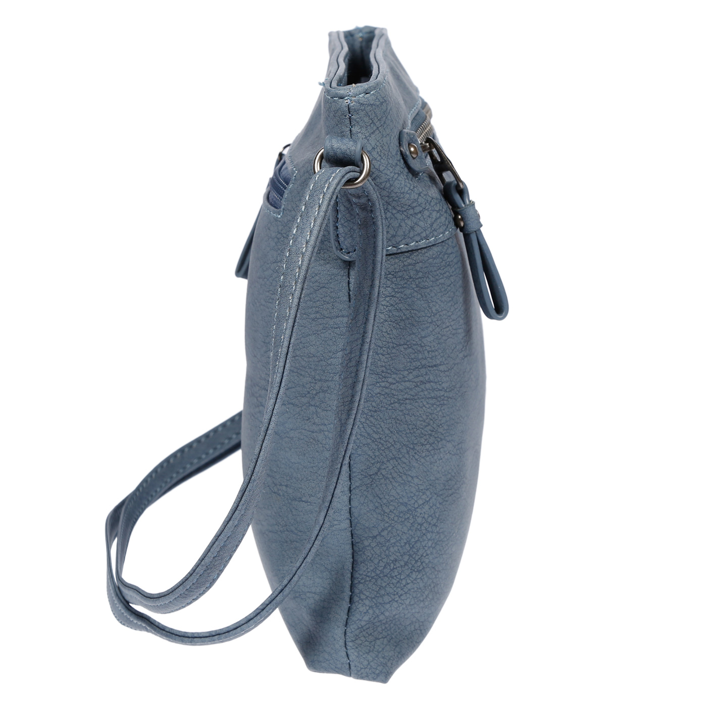 Damen-Handtasche-Umhaengetasche-Schultertasche-Tasche-Leder-Optik-Schwarz-Weiss Indexbild 46