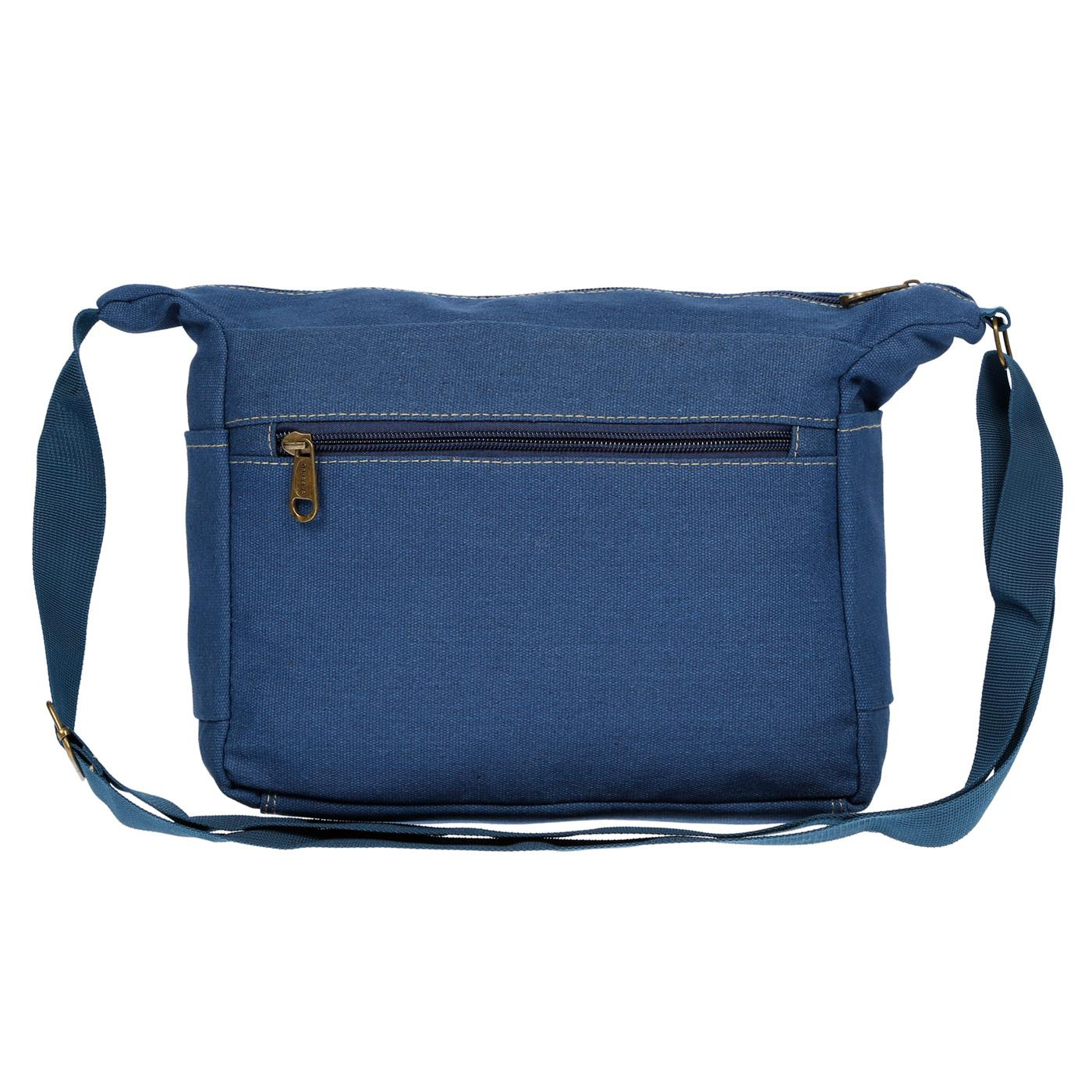 Damen-Tasche-Canvas-Umhaengetasche-Schultertasche-Crossover-Bag-Damenhandtasche Indexbild 22