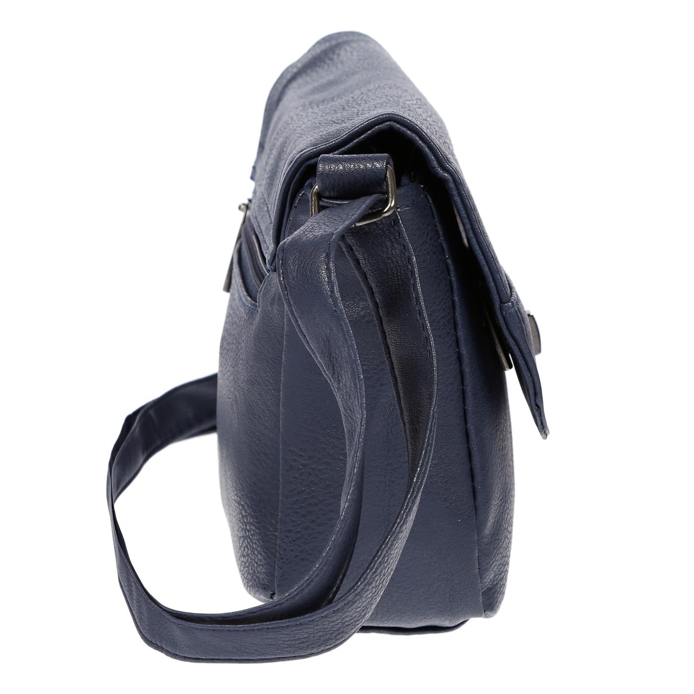 Kleine-Damen-Tasche-Umhaengetasche-Schultertasche-Crossover-Bag-Leder-Optik-NEU Indexbild 39