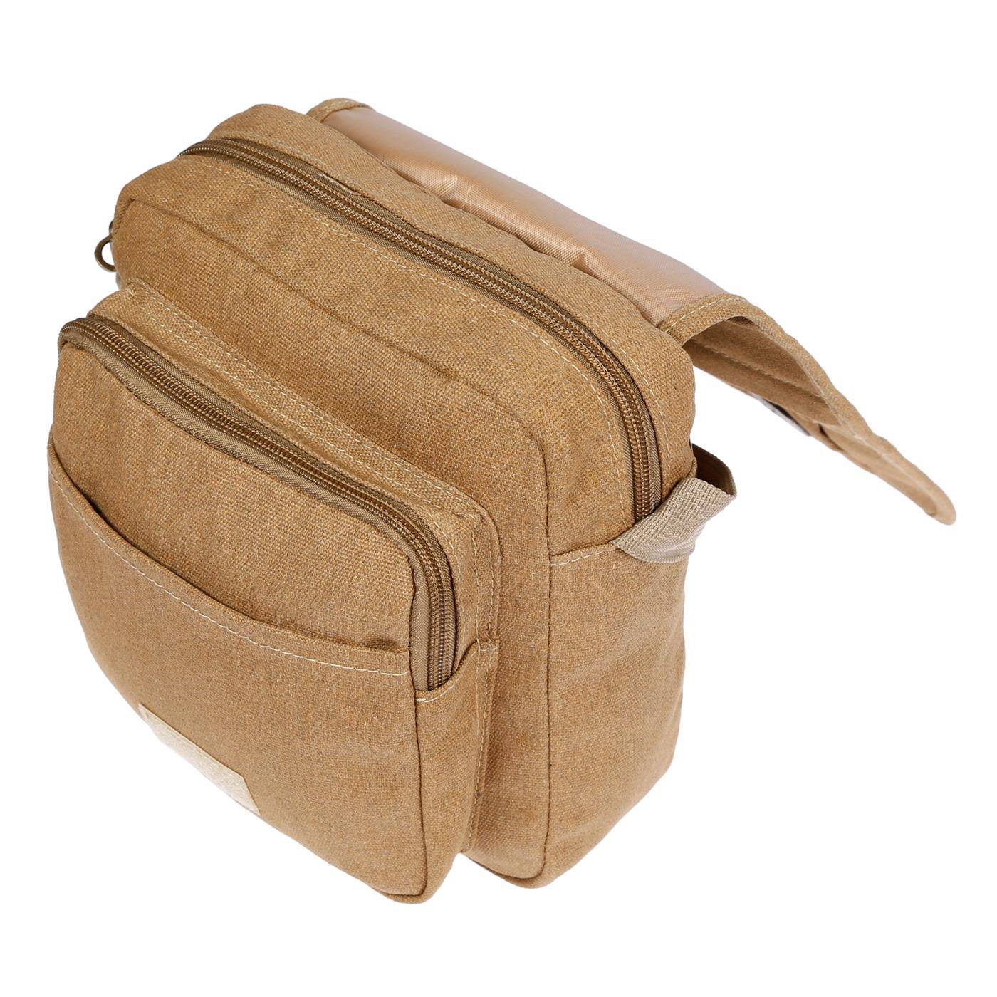 Damen-Herren-Tasche-Canvas-Umhaengetasche-Schultertasche-Crossover-Bag-Handtasche Indexbild 30