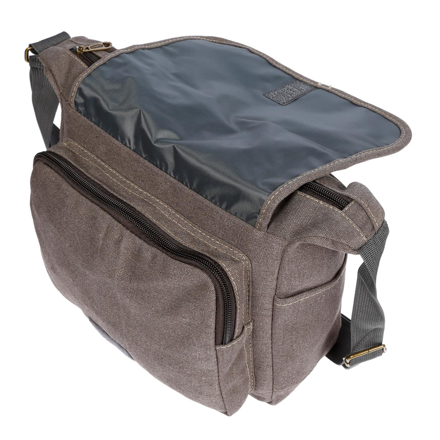 Damen-Tasche-Canvas-Umhaengetasche-Schultertasche-Crossover-Bag-Damenhandtasche Indexbild 35