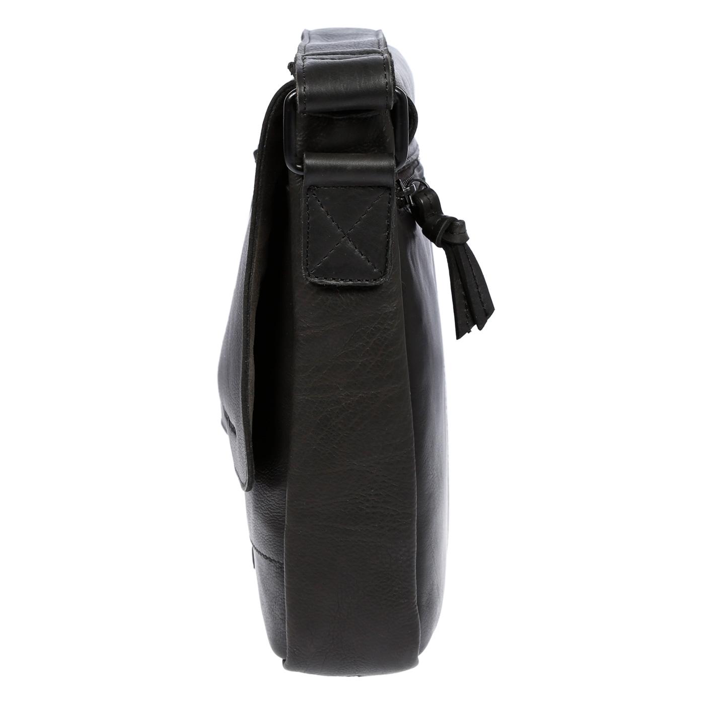 Echt-Leder-Herren-Damen-Umhaengetasche-Tasche-RFID-Schutz-Schultertasche-Umhaenger Indexbild 16
