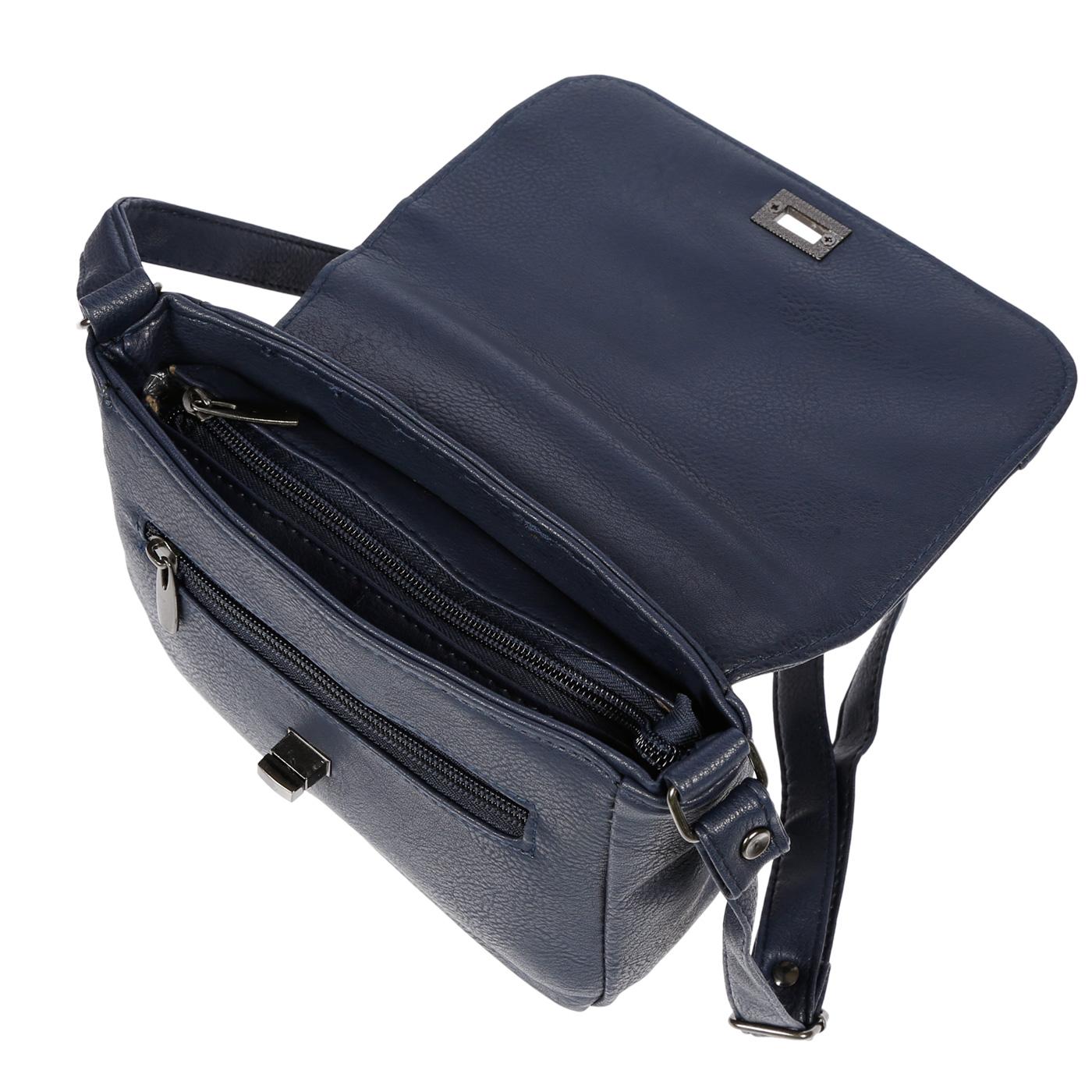 Kleine-Damen-Tasche-Umhaengetasche-Schultertasche-Crossover-Bag-Leder-Optik-NEU Indexbild 41