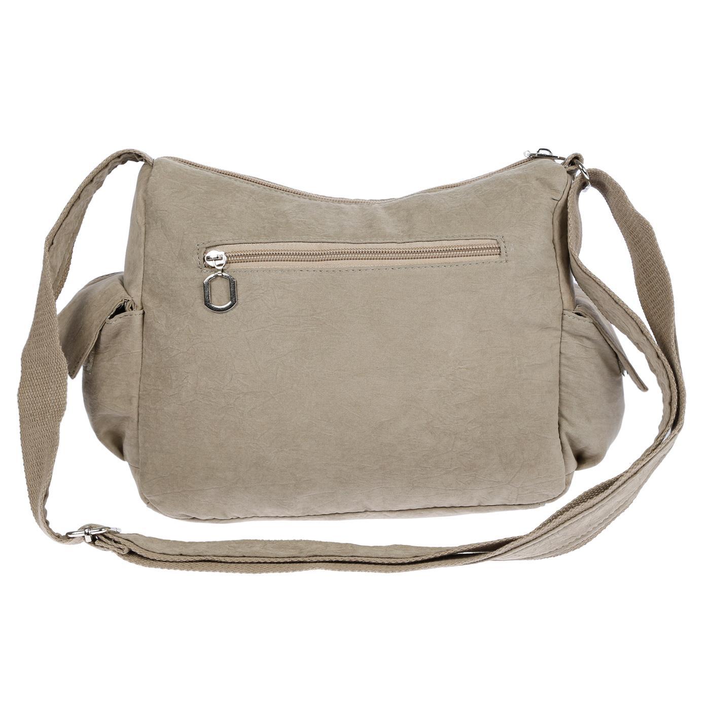 Damenhandtasche-Schultertasche-Tasche-Umhaengetasche-Canvas-Shopper-Crossover-Bag Indexbild 39