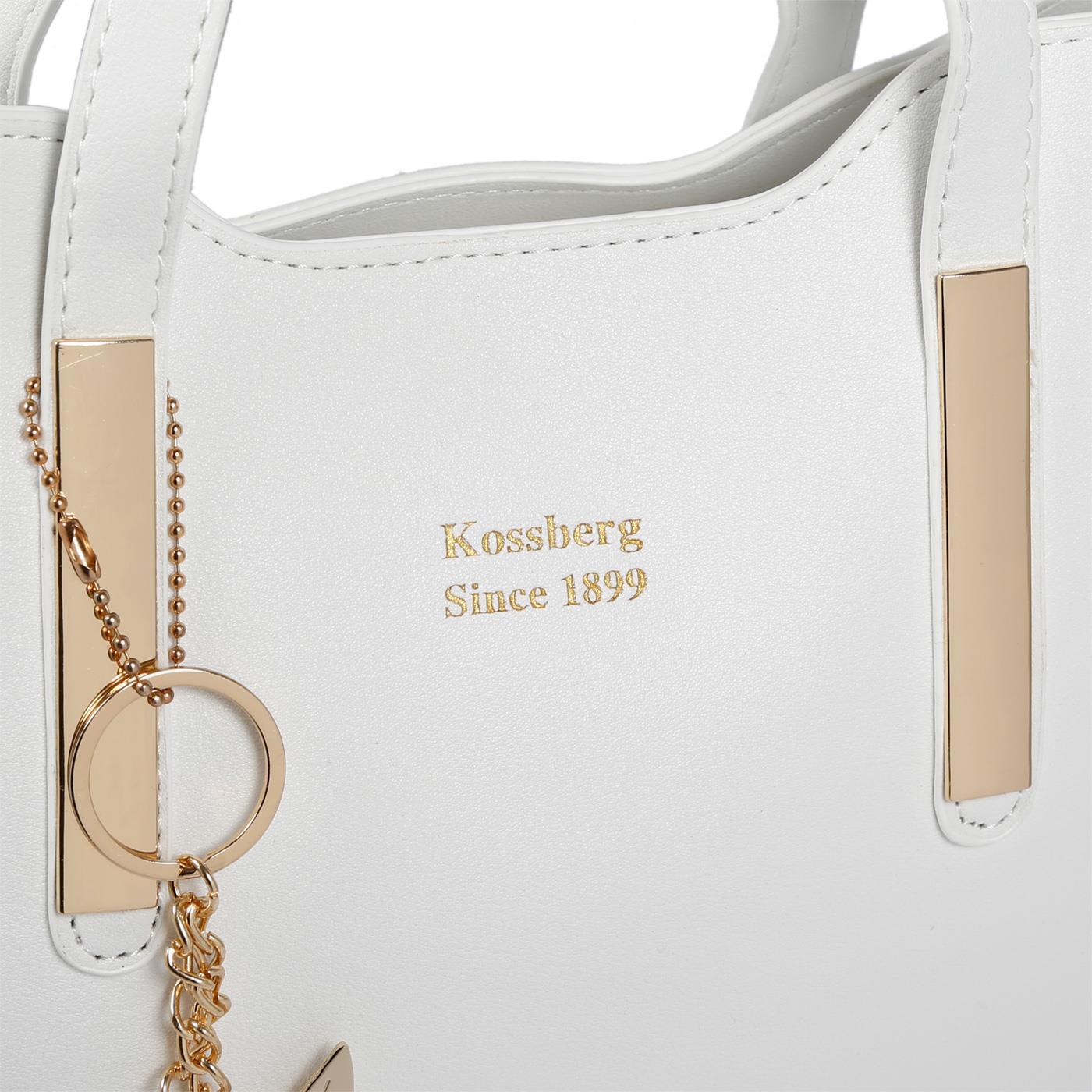 Kossberg-Damen-Tasche-Henkeltasche-Schultertasche-Umhaengetasche-Leder-Optik-Bag Indexbild 32